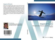 Buchcover von Impact of Events