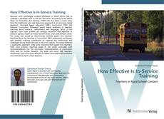 Portada del libro de How Effective Is In-Service Training
