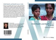 Buchcover von Child Health and Health Care in India
