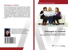 Bookcover of Zeitungen vs. Internet