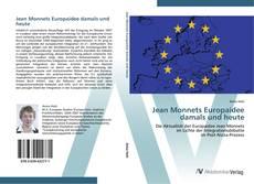 Capa do livro de Jean Monnets Europaidee damals und heute