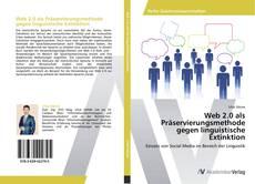 Couverture de Web 2.0 als Präservierungsmethode gegen linguistische Extinktion