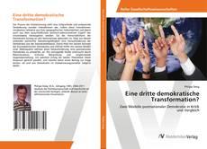 Eine dritte demokratische Transformation? kitap kapağı