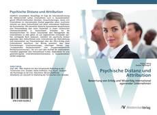 Bookcover of Psychische Distanz und Attribution