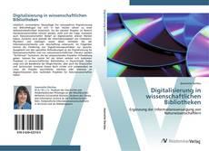 Capa do livro de Digitalisierung in wissenschaftlichen Bibliotheken