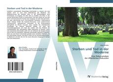 Capa do livro de Sterben und Tod in der Moderne