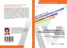Bookcover of Prozessmanagement - Effizienz und Exzellenz in der Forschung