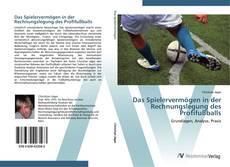 Borítókép a  Das Spielervermögen in der Rechnungslegung des Profifußballs - hoz