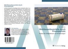 Buchcover von Wettbewerbsvorteile durch Finanzportale