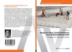 Bookcover of Analyse eines Unternehmens aus Arbeitnehmersicht