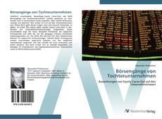 Bookcover of Börsengänge von Tochterunternehmen