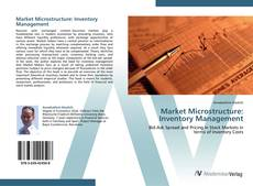 Bookcover of Market Microstructure: Inventory Management