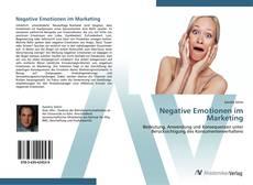 Couverture de Negative Emotionen im Marketing