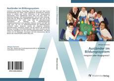 Buchcover von Ausländer im Bildungssystem