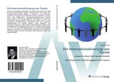 Capa do livro de Die Internationalisierung von Toyota