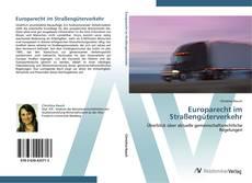 Buchcover von Europarecht im Straßengüterverkehr