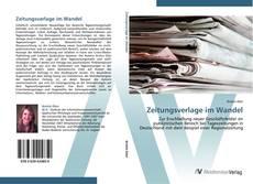 Zeitungsverlage im Wandel kitap kapağı