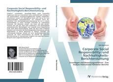 Couverture de Corporate Social Responsibility- und Nachhaltigkeits-Berichterstattung