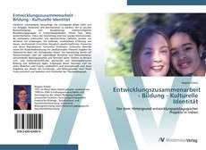 Entwicklungszusammenarbeit - Bildung - Kulturelle Identität kitap kapağı