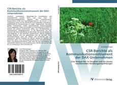 Обложка CSR-Berichte als Kommunikationsinstrument der DAX-Unternehmen