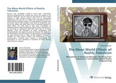 Capa do livro de The Mean World Effects of Reality Television