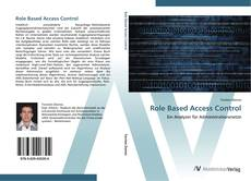 Role Based Access Control kitap kapağı