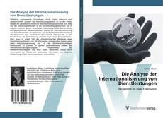 Buchcover von Die Analyse der Internationalisierung von Dienstleistungen