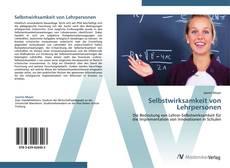 Buchcover von Selbstwirksamkeit von Lehrpersonen