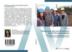 Borítókép a  Förderung des Lerntransfers durch Praxiskontakte - hoz