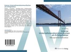 Borítókép a  Interne Unternehmenskommunikation als Erfolgsfaktor - hoz