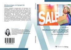 Bookcover of Werbeanzeigen als Spiegel der Gesellschaft