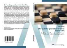 Bookcover of Der Landtag von Nordrhein-Westfalen