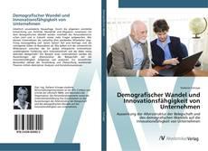 Capa do livro de Demografischer Wandel und Innovationsfähgigkeit von Unternehmen