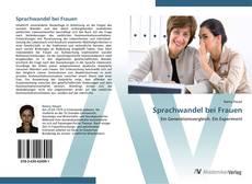 Capa do livro de Sprachwandel bei Frauen