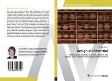 Design als Potential kitap kapağı