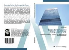 Bookcover of Besonderheiten der Prospektprüfung