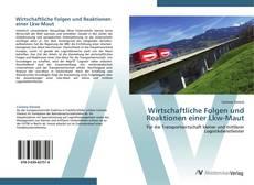Buchcover von Wirtschaftliche Folgen und Reaktionen einer Lkw-Maut