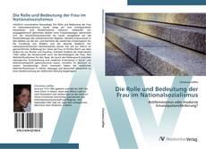 Buchcover von Die Rolle und Bedeutung der Frau im Nationalsozialismus