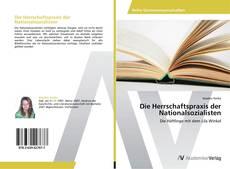 Die Herrschaftspraxis der Nationalsozialisten kitap kapağı