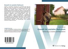 Gewalt im sozialen Nahraum kitap kapağı