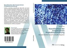 Bookcover of Koordination der kooperativen Produktentwicklung