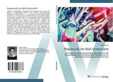 Portada del libro de Popmusik im DaF-Unterricht