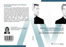 Buchcover von Soziale Einstellungen und seelische Gesundheit