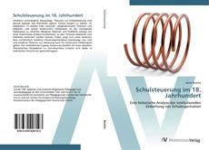Bookcover of Schulsteuerung im 18. Jahrhundert