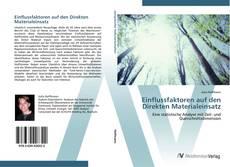 Borítókép a  Einflussfaktoren auf den Direkten Materialeinsatz - hoz
