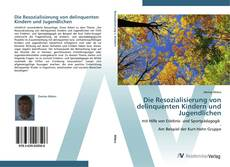 Buchcover von Die Resozialisierung von delinquenten Kindern und Jugendlichen