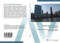 Bookcover of The United Nations Secretariat
