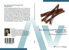 Buchcover von Zur Genese und Therapie der Magersucht