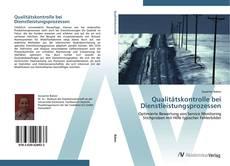 Copertina di Qualitätskontrolle bei Dienstleistungsprozessen