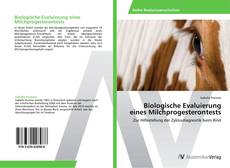 Bookcover of Biologische Evaluierung eines Milchprogesterontests